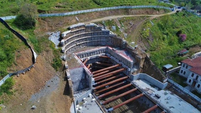 İstanbul Havalimanı Metro Hattı İnşaatı Devam Ediyor