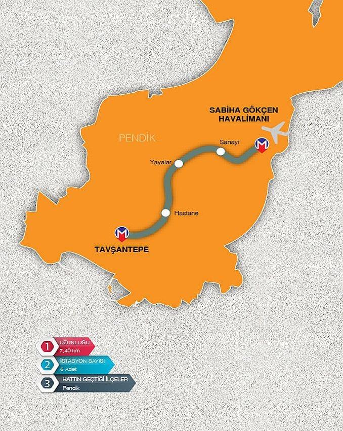 Sabiha Gökçen - Tavşantepe Metrosu 2020'de Açılacak