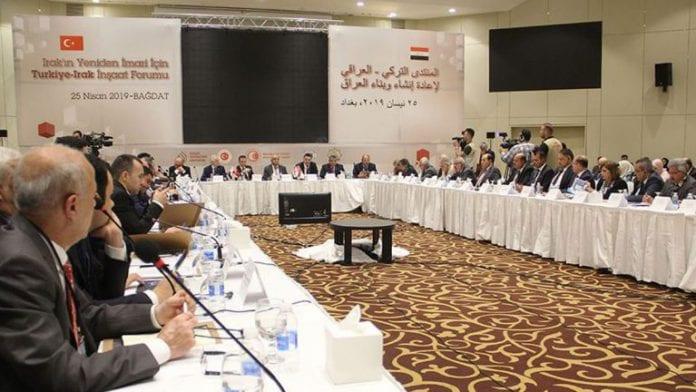 Bağdat'ta Irak - Türkiye İnşaat Forumu Düzenlendi
