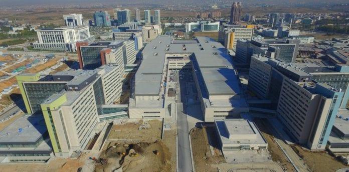 Bilkent ŞEhir Hastanesi Açılış İçin Hazır