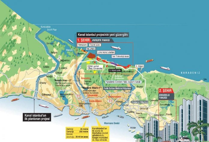 Kanal İstanbul'un Detayları Ortaya Çıktı