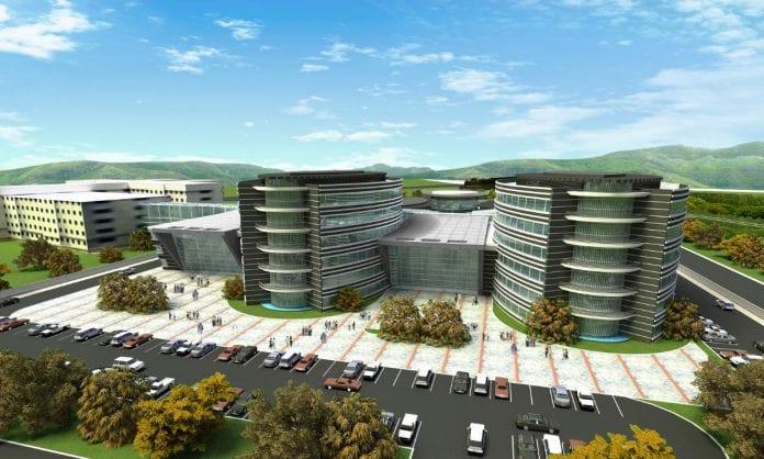 Tarsus Devlet Hastanesi'nin Kaba İnşaatının Yüzde 95'i Tamamlandı