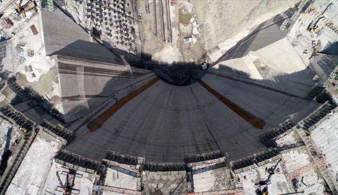 Tamamlandığında Dünyanın En Yüksek 3. Barajı Olacak Yusufeli Barajı'nda Çalışmalar Sürüyor
