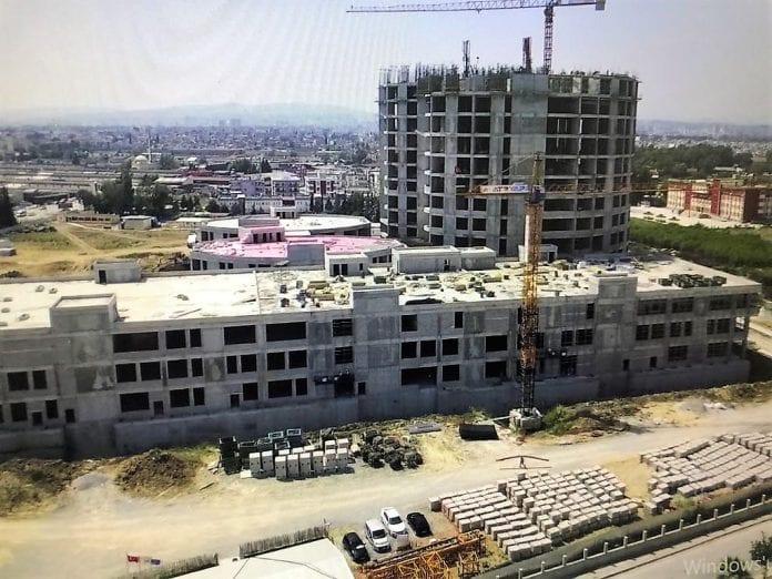 Tarsus Devlet Hastanesi İnşaatı Hızla Sürüyor