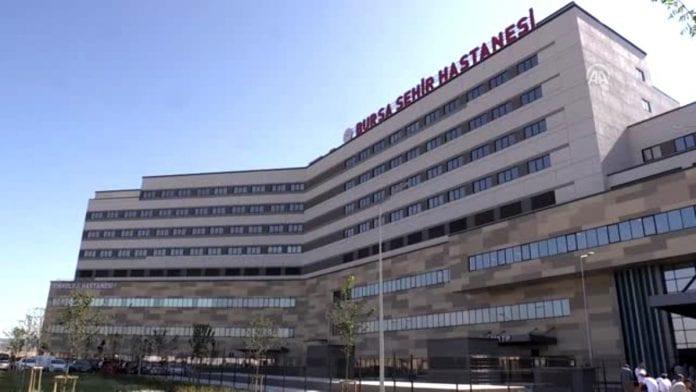 Türkiye'nin 10. Şehir Hastanesi Olan Bursa Şehir Hastanesi Hasta Kabulüne Başladı