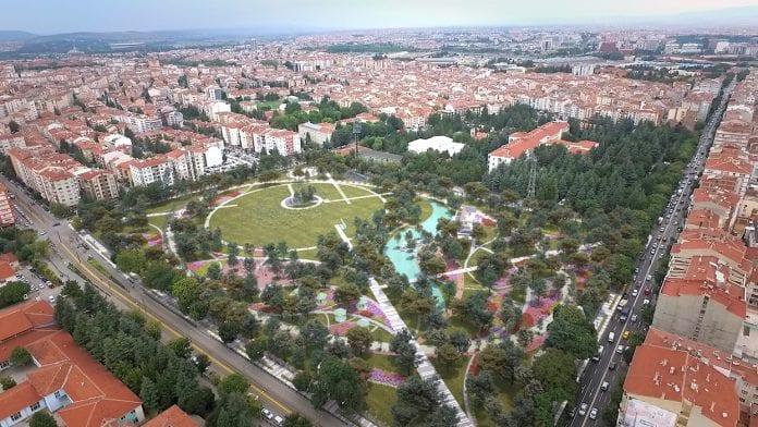 TOKİ'den Eskişehir Millet Bahçesi Açıklaması