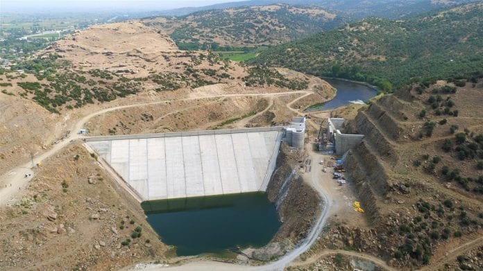 Gökbel Barajı İnşaatı Yıl Sonuna Kadar Tamamlanacak