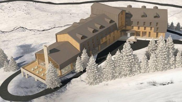 Yaylaya 50 Milyon Liraya Yapılacak 5 Yıldızlı Otelin Temeli Atıldı