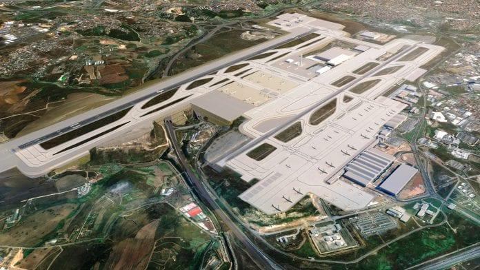 İstanbul Sabiha Gökçen Havalimanı'nda İkinci Pist Çalışması