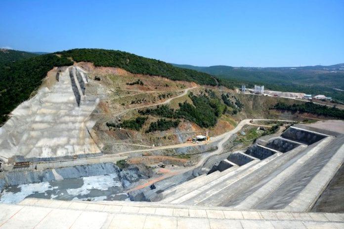 Gölecik Barajı İnşaatı Hızla Devam Ediyor
