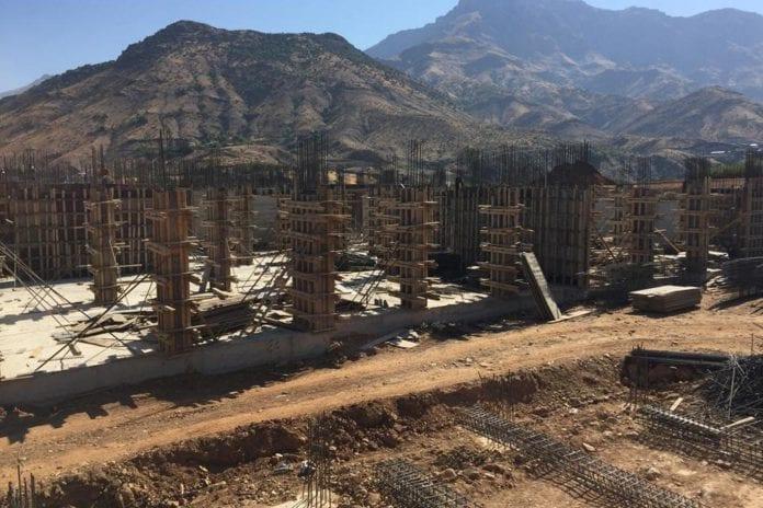 Sason'da Yeni Hastane İnşaatı Hızla Devam Ediyor