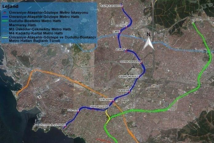 Ümraniye Göztepe Metro Hattı Projesi İçin Tünel Kazı Çalışmaları Başladı!