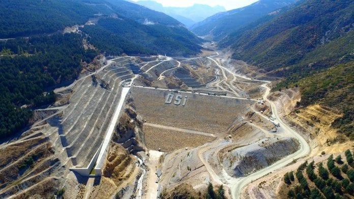 Adıyaman Çetintepe Barajı'nda Çalışmalar Devam Ediyor