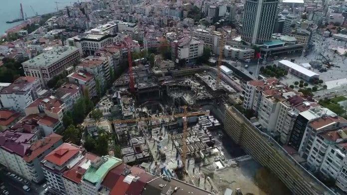 Dev Projede Son Durum Havadan Görüntülendi