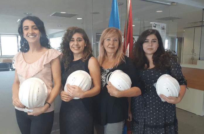 İMO'nun 'Beyaz Baretli Kadınlar' Projesi Başladı