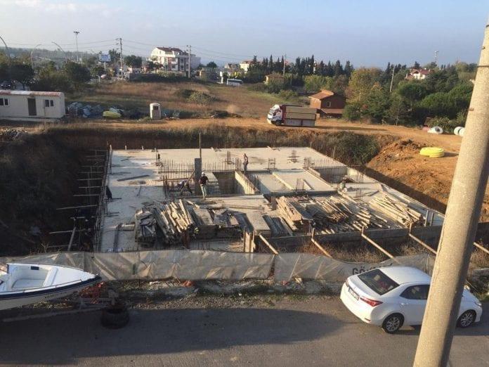 Darıca'da Emniyet Müdürlüğü Binasının İnşaatına Başlanıldı