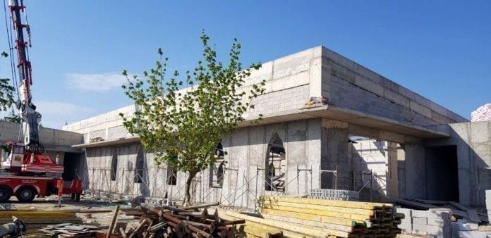 Uzuntarla Kültür Merkezi'nin Kaba İnşaatı Tamamlandı
