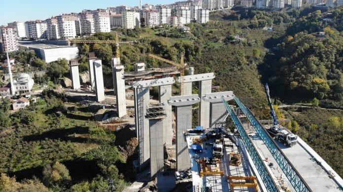 Türkiye'nin Maliyeti En Yüksek Şehir İçi Yol İnşaatlarından Biri Olarak Gösteriliyor