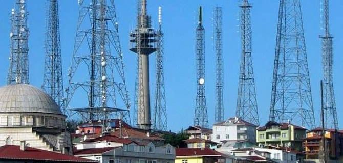 Çamlıca Tepesi'nde Eski Antenlerin Yerine Park Yapılacak!