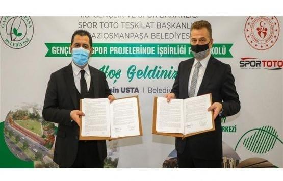 Gaziosmanpaşa Küçükköy Gençlik Merkezi İçin İmzalar Atıldı!