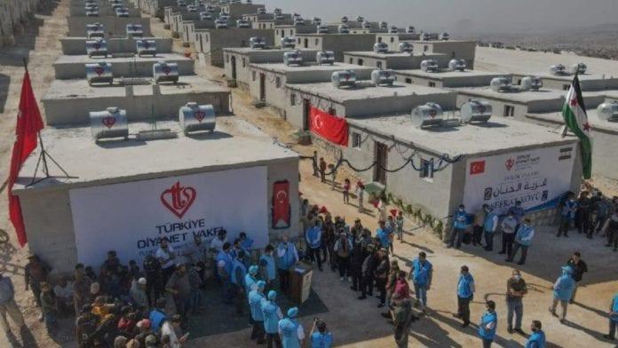 Türkiye Diyanet Vakfı'nın Suriye'de İyilik Konutları Projesi!