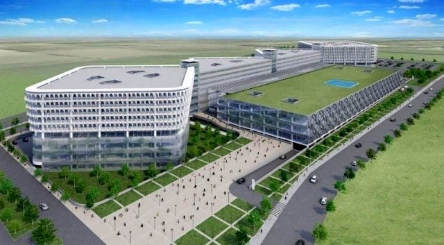 Aydın Şehir Hastanesi'nin Proje Sözleşmesi İmzalandı