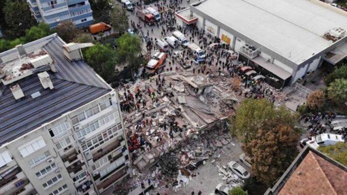 Cumhurbaşkanı Erdoğan'dan İzmir Deprem Konutları Açıklaması: 1 Milyon 400 Bin Metrekare Tahsis Edildi