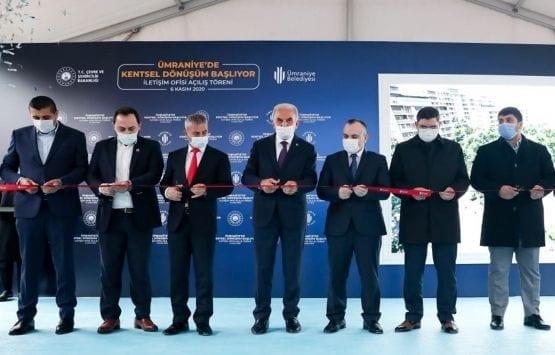 Ümraniye Elmalıkent Kentsel Dönüşüm Ofisi Açıldı!