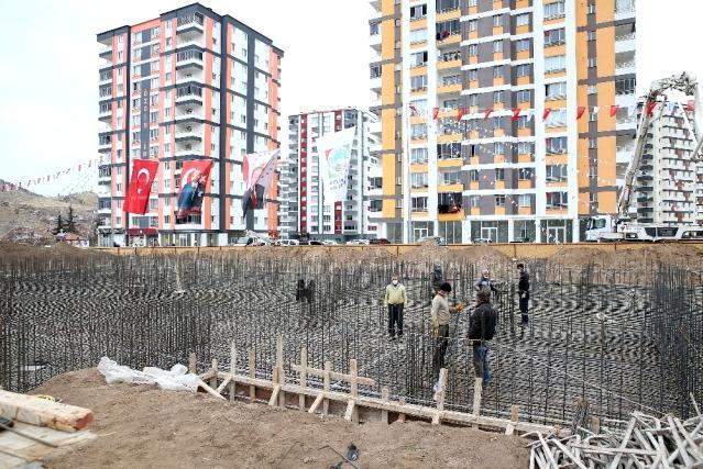 Kayseri'de Eğitim Kompleksi Temeli Atıldı