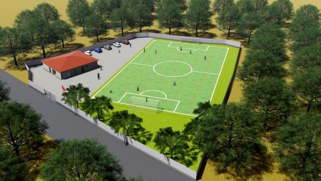 Manisa'da Spor Tesisi'nin Temeli Atıldı