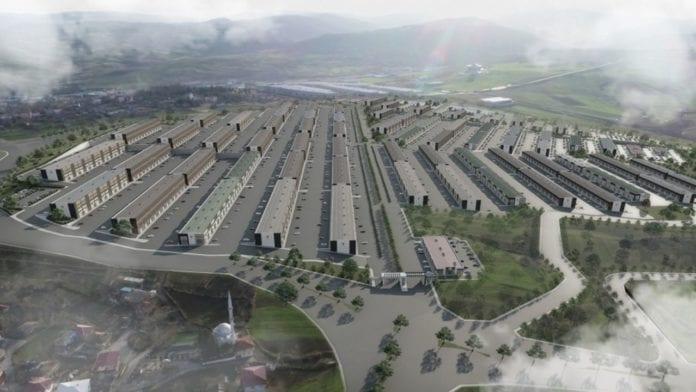 Samsun'da Yeni Sanayi Sitesi İnşa Ediliyor