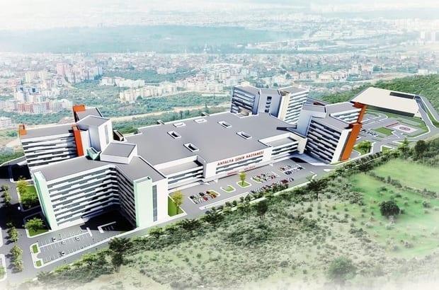 Antalya Şehir Hastanesi İçin İlk Kazma Vuruldu!